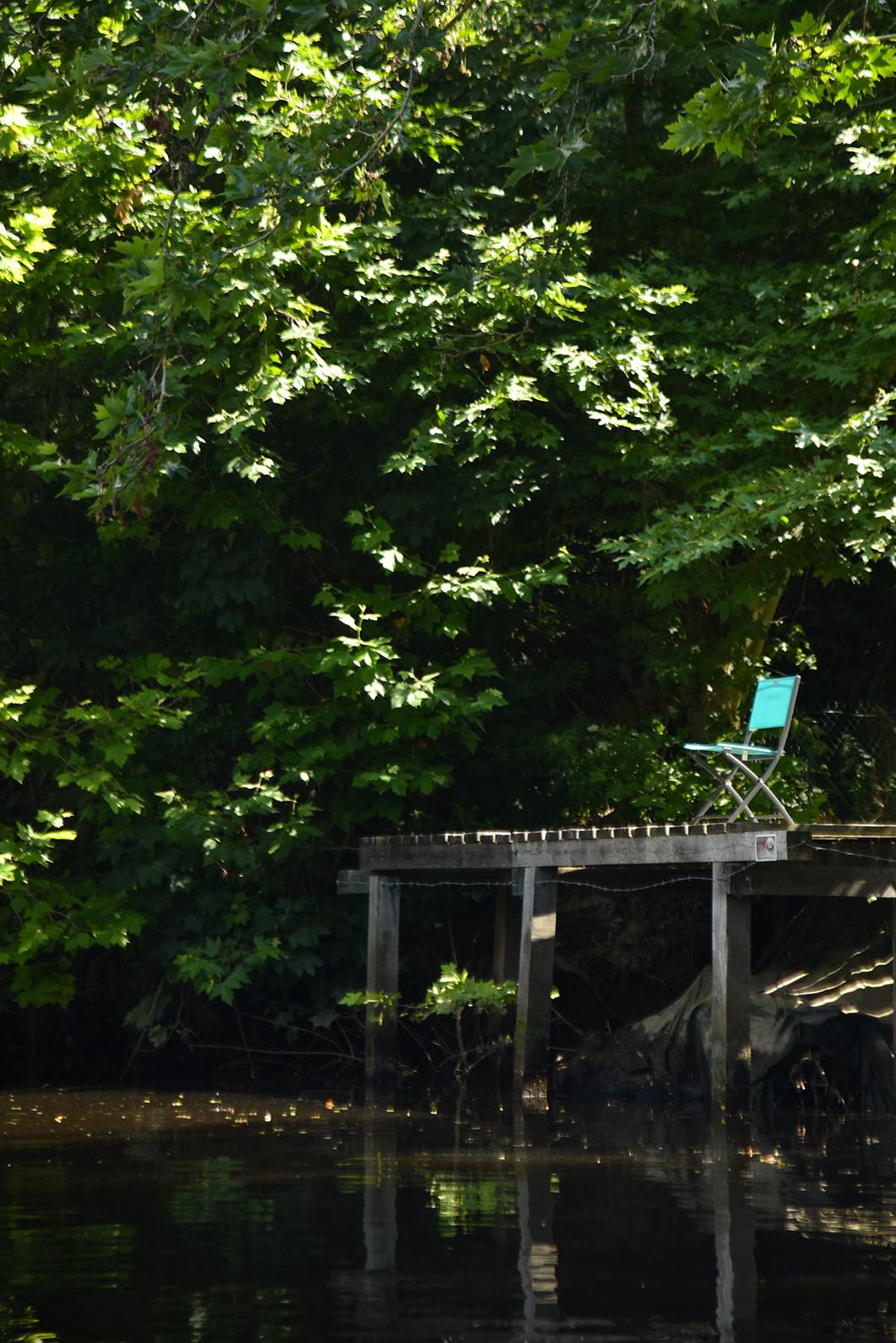 Balade en bateau sur l'Orne dans le Calvados