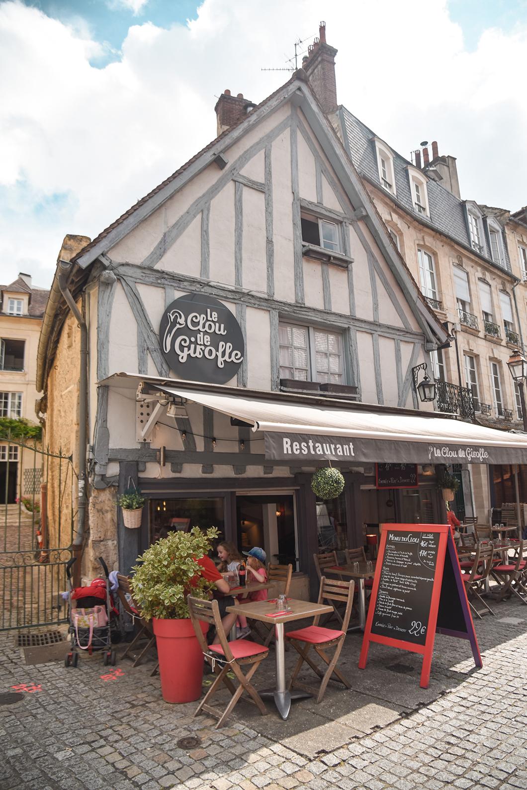Déjeuner au Clou de Girofle à Caen