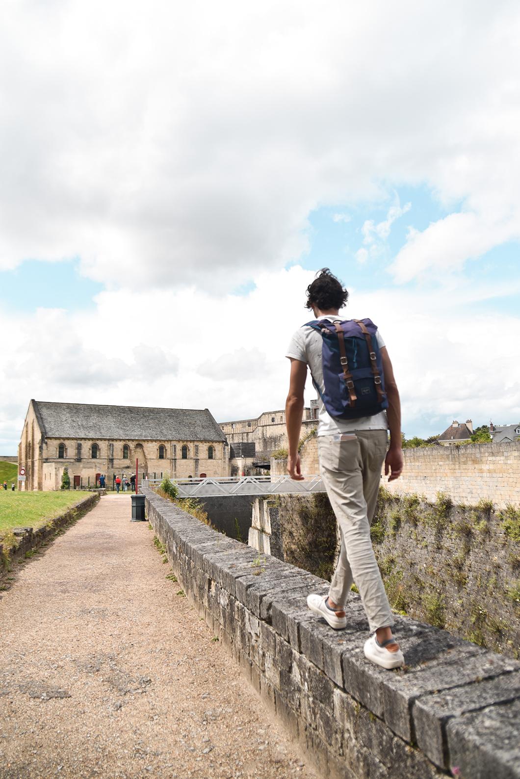 Découverte du château de Caen en Normandie